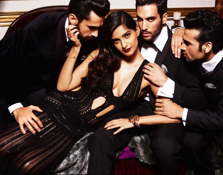 Bollympix: Sonam Kapoor PhotoShoot For GQ Magazine October