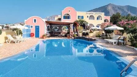 Disfruta de los hoteles de Santorini, Grecia, viajes y turismo