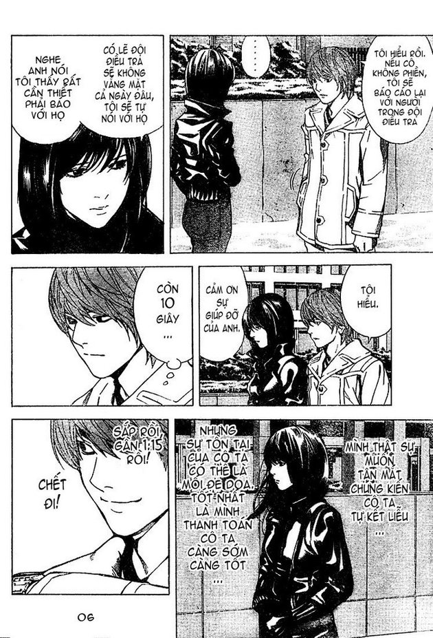 Death Note chapter 013 trang 6