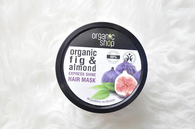 figowa maska do włosów od organic shop. uniwersalna maska do każdego typu włosów?