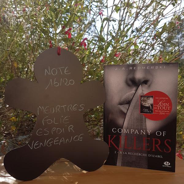 Company of Killers, tome 2 : A la recherche d'Izabel de J. A. Redmerski