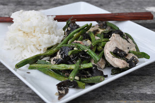 Stir Fried Chicken and Vegetables with Thai Basil