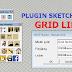 Download Plugin SketchUp - Grid Line V.1.0
