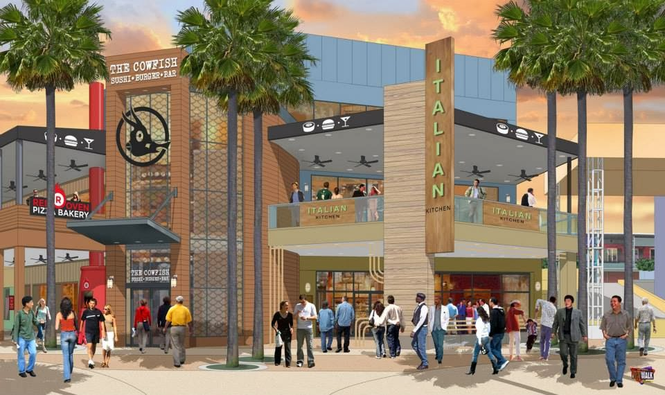 The Cowfish Opening At Universal Studios Citywalk Grown