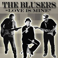 """Indie single download - Stream/download """"Love Is Mine"""" by The Blusers on Reverbnation, Amazon and top digital music streaming and download services for independent music"""