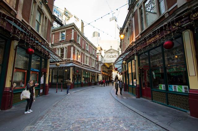 Leadenhall market-Londra