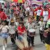 Ribuan Warga Ramaikan Karnaval dan Seka Massal