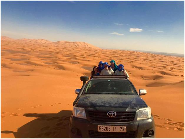Adventurous Camping in the Sahara & Morocco with Virikson 5