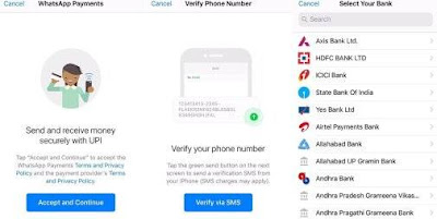 whatsapp payment feature introduced in india