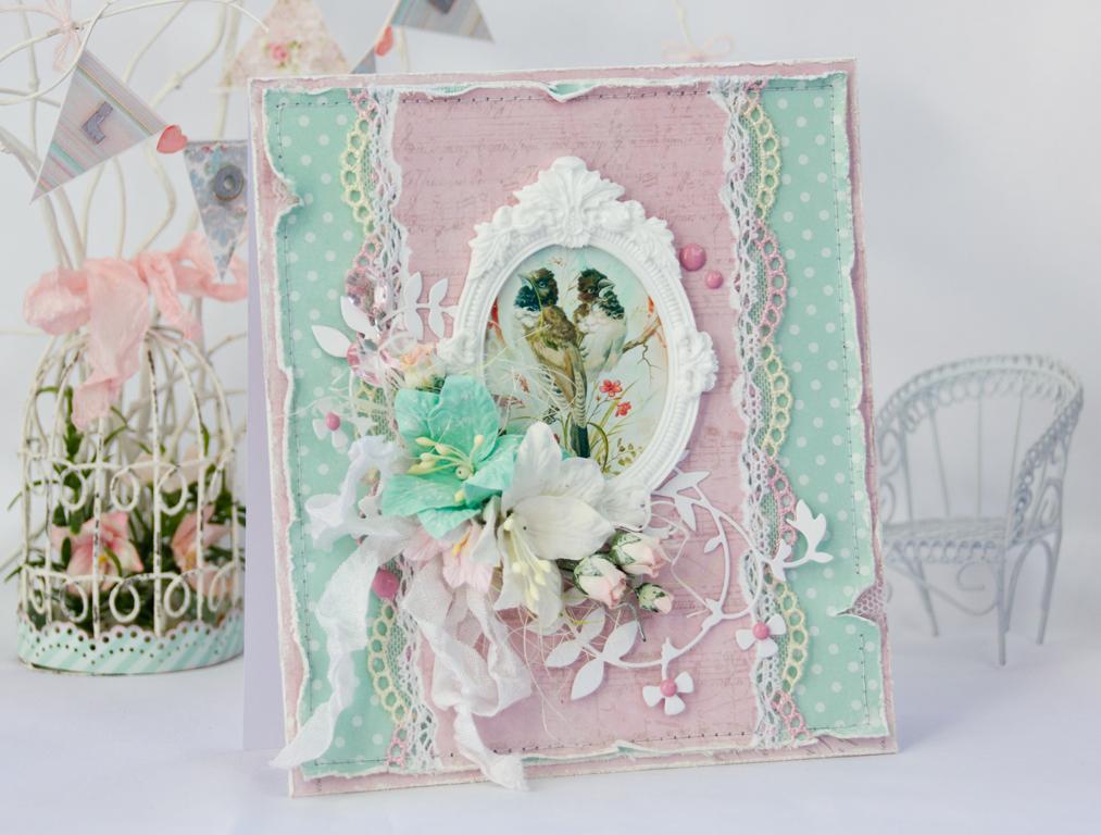 Мастер-класс по изготовлению открыток из скрапбукинга на тему весна