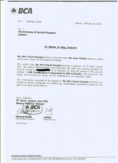 Surat Referensi BCA