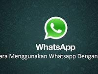 3 Cara Menggunakan Whatsapp Web, Mengirim dan Menambah Kontak