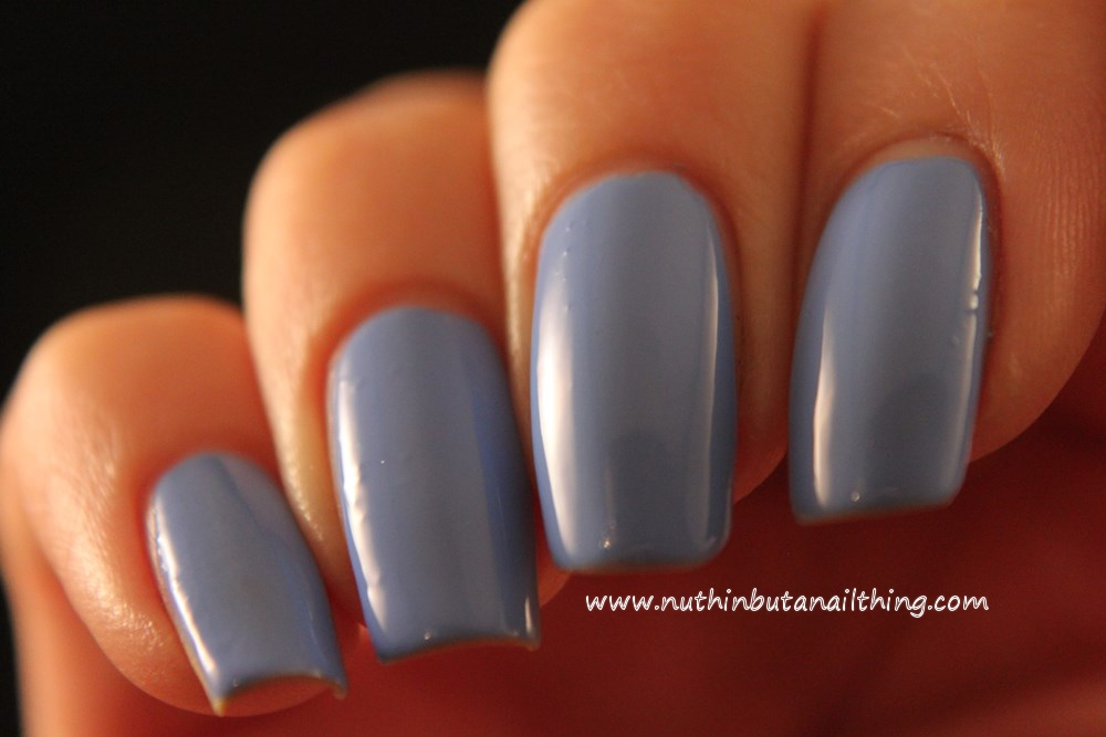 Models Own HyperGel Collection Swatches Cornflower Gleam