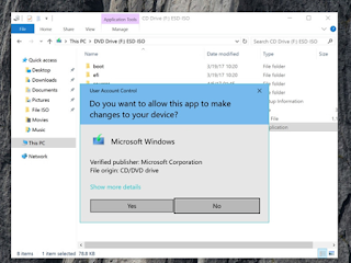 Cara Install Windows 10 Creators Update dengan File ISO