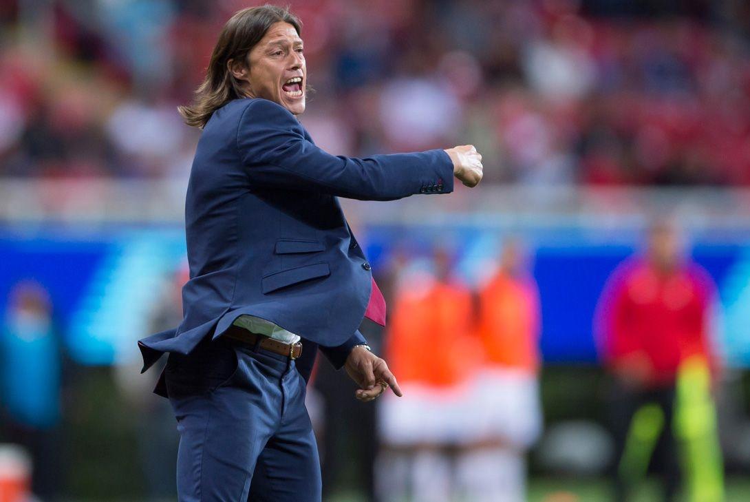 El técnico del Guadalajara Matías Almeyda.