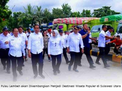 Pulau Lembeh akan Dikembangkan Menjadi Destinasi Wisata Populer di Sulawesi Utara
