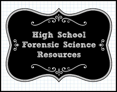 Unexpected Homeschool: High School Forensic Science Resources