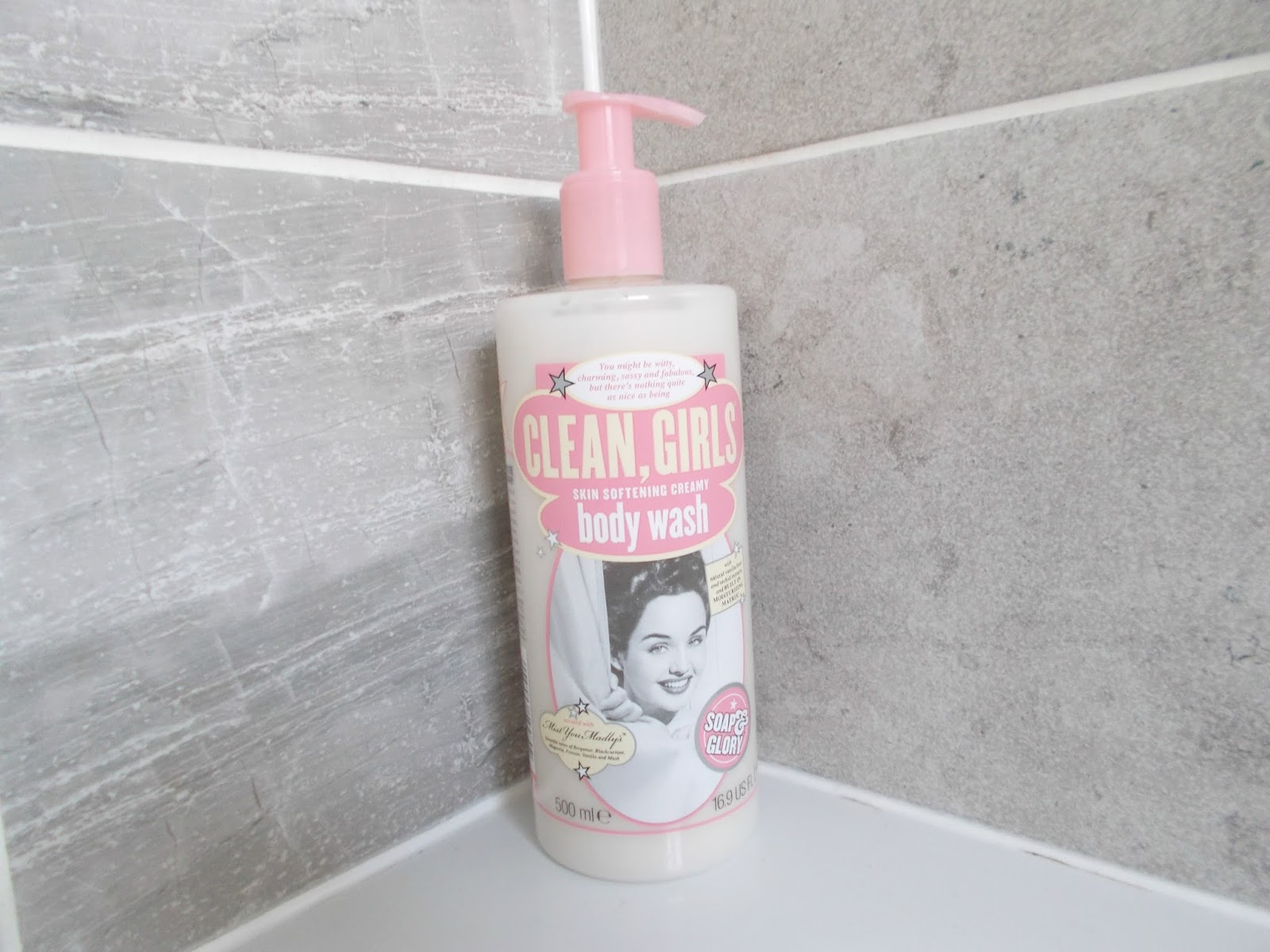 soap and glory clean girls review