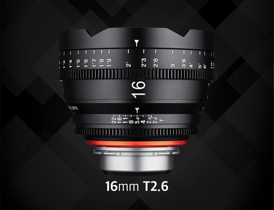 Объектив Samyang Xeen 16mm T2.6