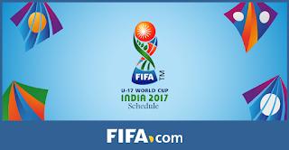 fifa U17 world cup 2017 schedule
