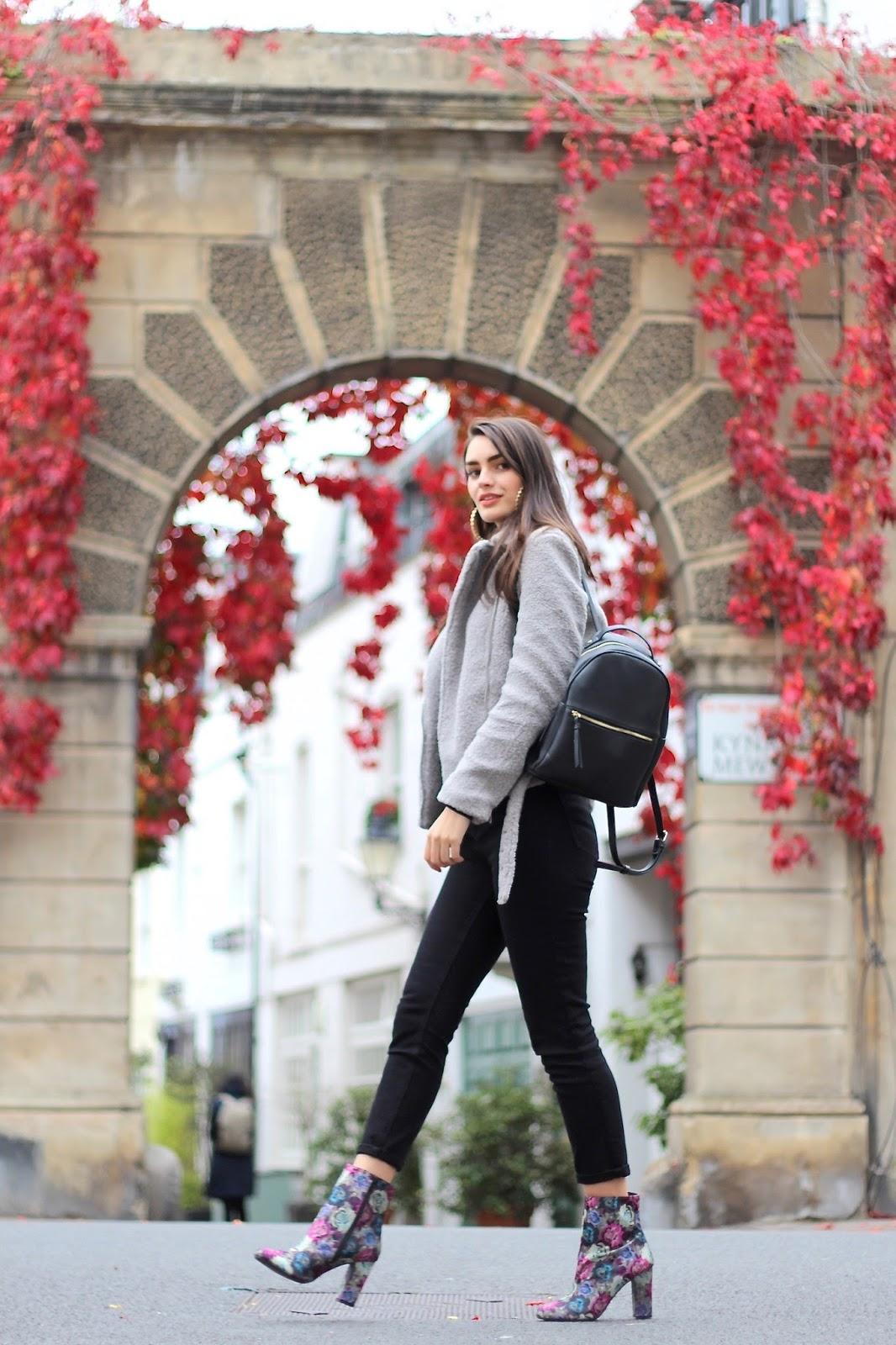 peexo florals autumn street style