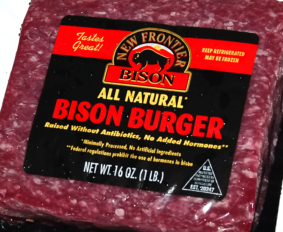 The Queen's Table: Consider Trying Bison Burgers