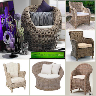Manufacturer Of Wicker And Rattan Chairs From Indonesia
