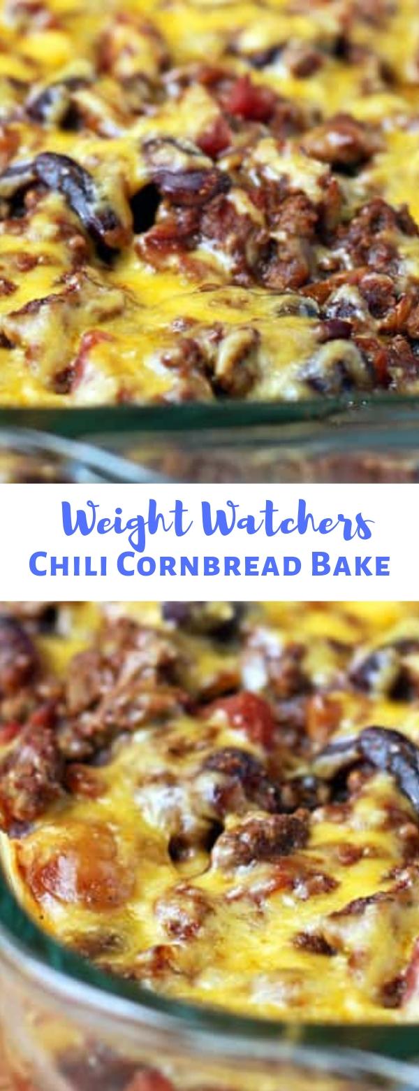 WEIGHT WATCHERS CHILI CORNBREAD BAKE