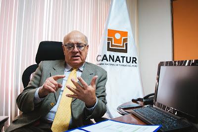 Fredy Gamarra presidente CANATUR, turismo Peru, Camara Nacional de Turismo Peru