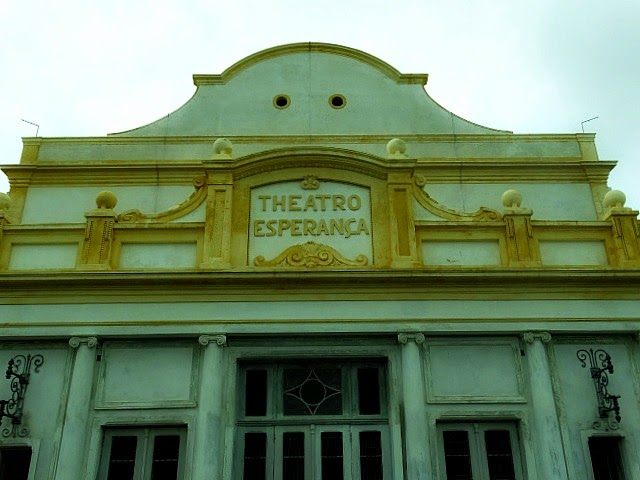 O Teatro Esperança, em Jaguarão, inaugurado em 1897, é o terceiro mais antigo do RS
