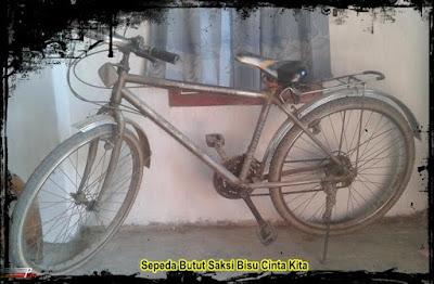 Sepeda Butut Saksi Bisu Cinta Kita