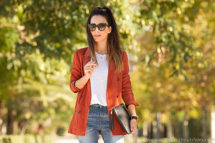 Mejores looks con Blazer de Influencers Blogs de Moda Mujer España 2016