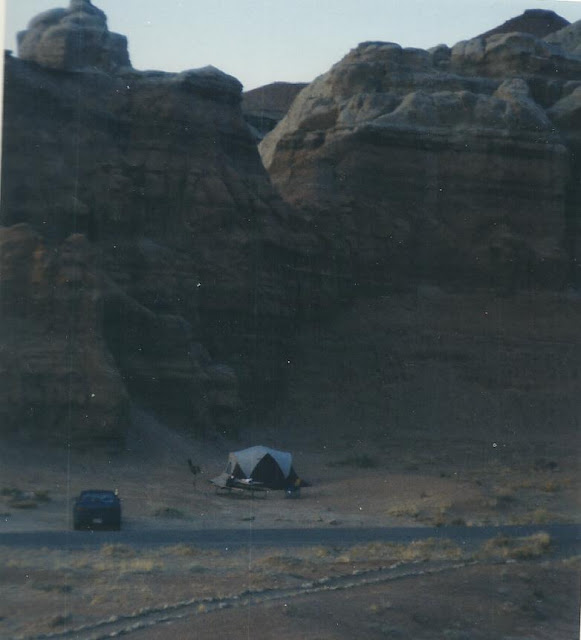 Goblin Valley Camping