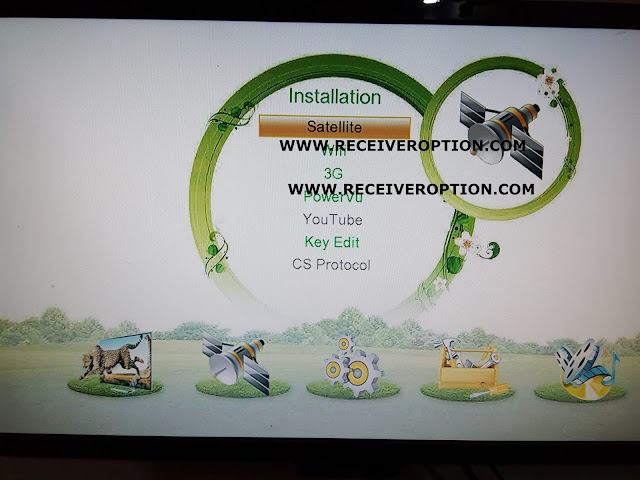 TIGER O5 HD RECEIVER CCCAM OPTION SOFTWARE