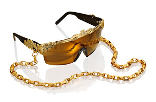 Gold Sunglasses, Anna Dello Russo for H&M