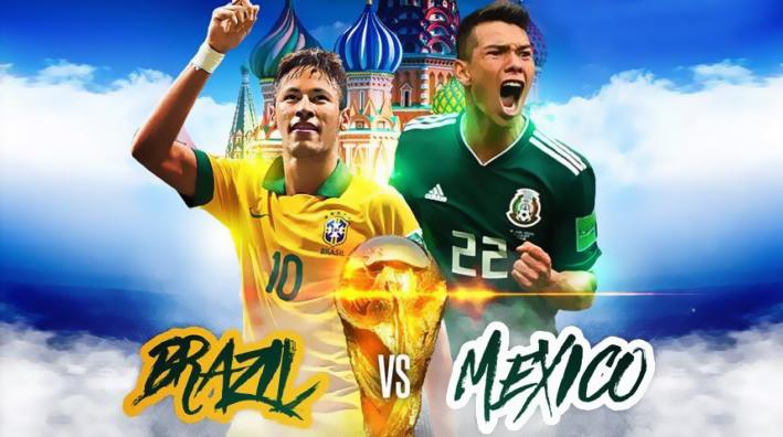 Xem trực tiếp Brazil vs Mexico trên kênh nào của VTV, HTV?