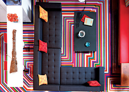 Your Hollywood Home Duct Tape And Sheets Make Big Impact