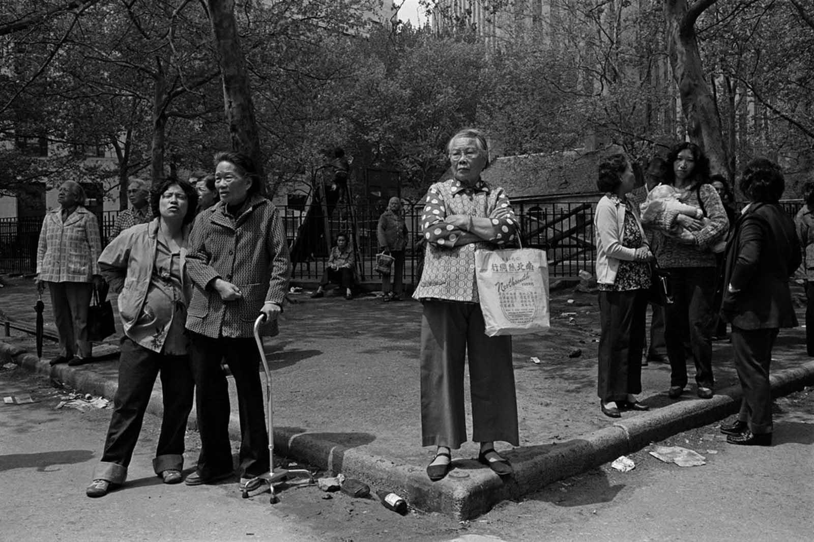 Parque Colón, 1983.