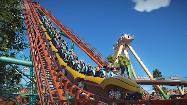 Planet Coaster parc attractions jeu