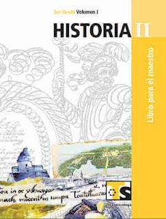 HistoriaII libro para el MaestroVolumen I–Tercer gradoLibro de texto de Telesecundaria2017-2018