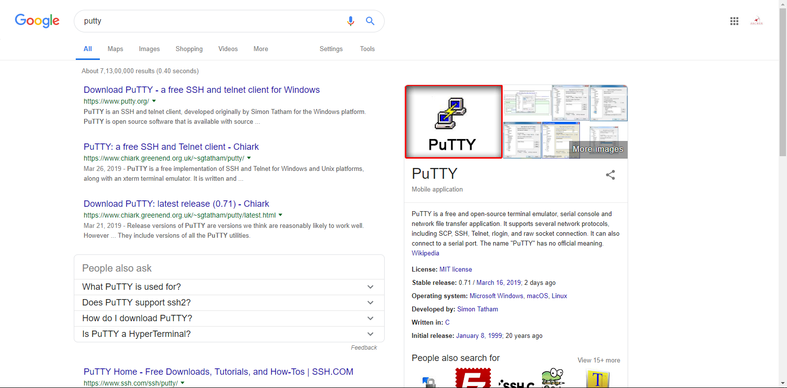 All about pfsense: How to Use Putty in Pfsense??