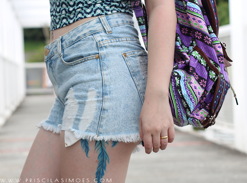 look do dia com shorts boyfriend