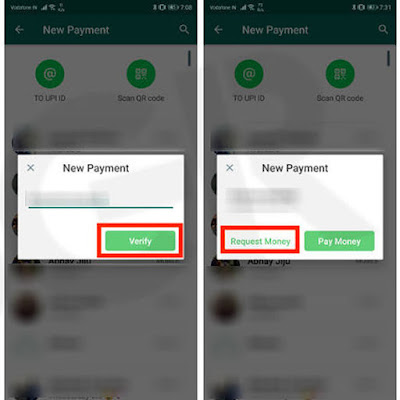 How to send money or receive money on WhatsApp