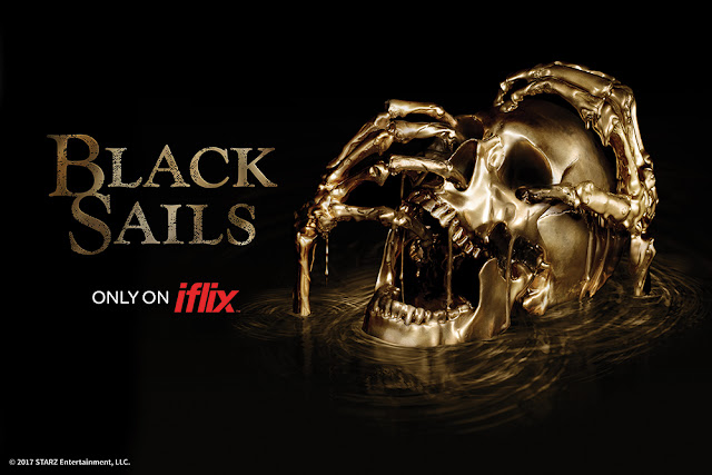 Black Sails on iflix logo