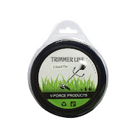 เอ็นตัดหญ้า แบบฟันเลื่อย 3.0 มิล 15 เมตร (สีดำ)