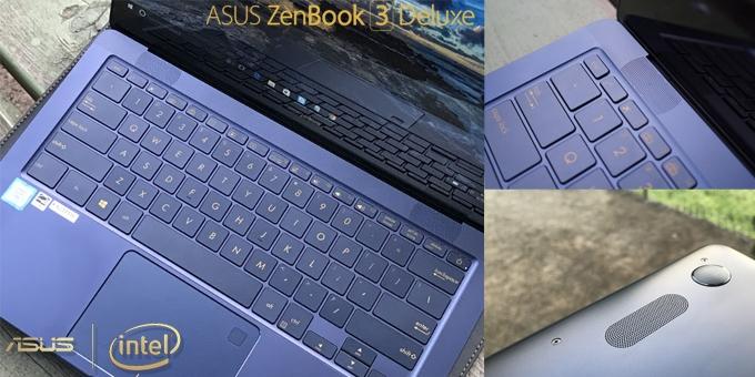 """Asus ZenBook 3 Deluxe UX490 """" Ultrabook Tipis Paling Kece """""""