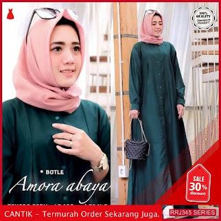 Jual RRJ345D193 Dress Abaya Amora Wanita Vg Terbaru Trendy BMGShop