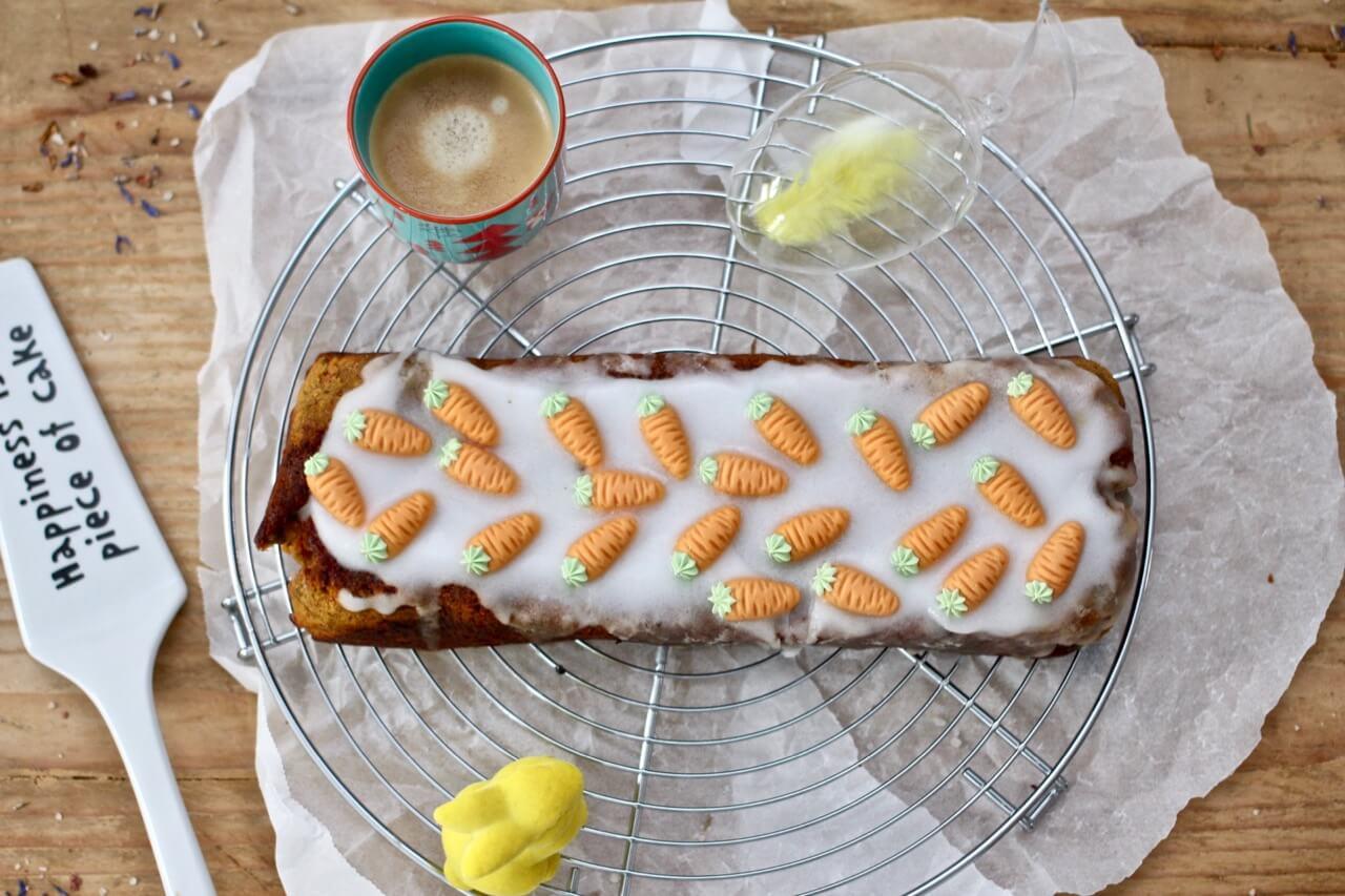 Veganer Karottenkuchen