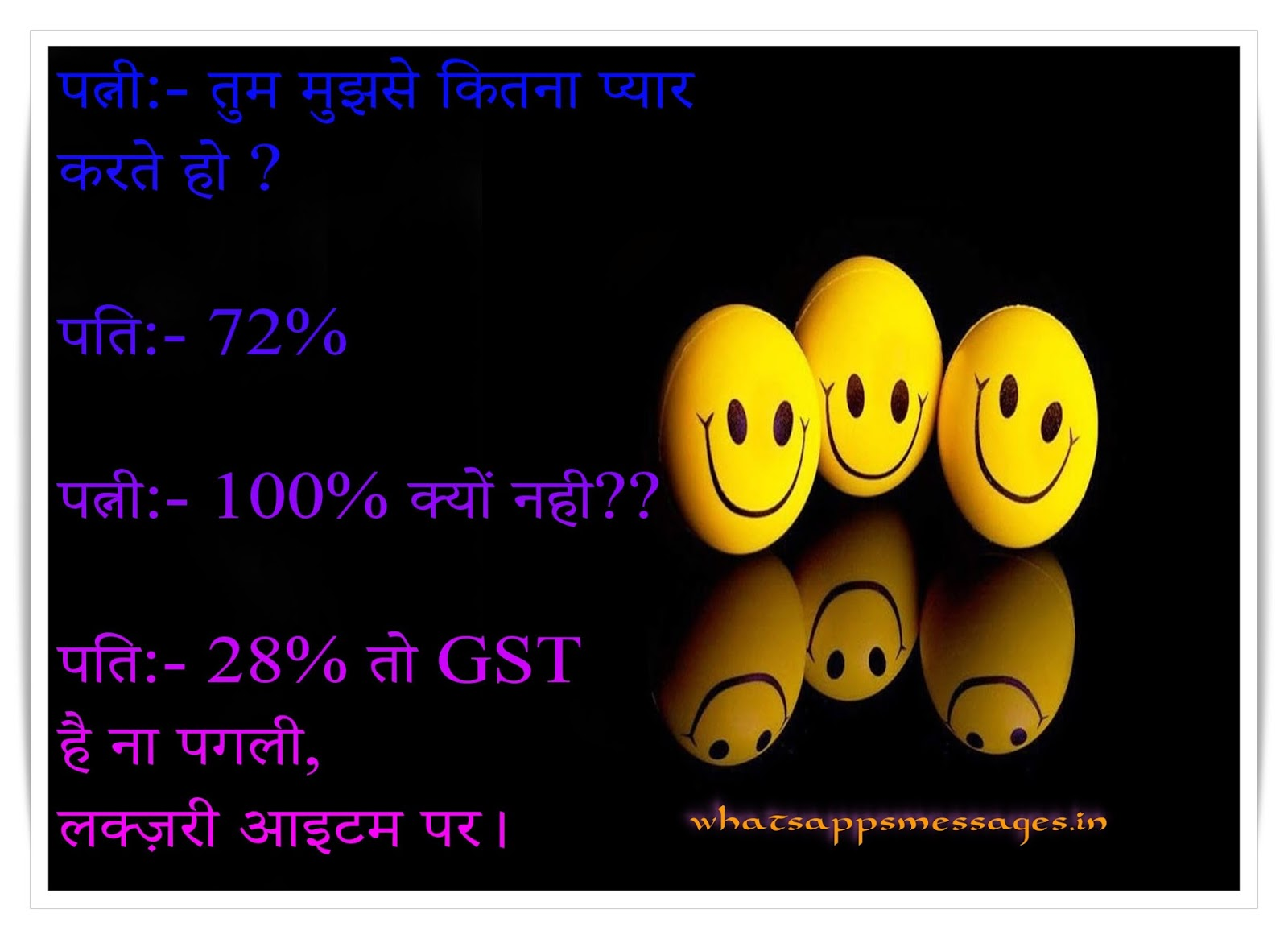 Funny GST SMS/Messages ~ Whatsapp Messages