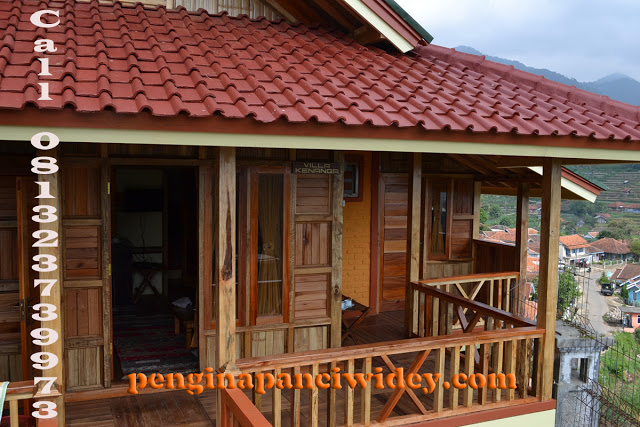 Booking villa di area wisata kawah putih dari tuban